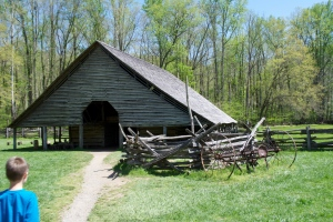 The Barn at The Mountain Farm Museum - Great Smoky Mountain National Park