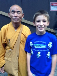 A Buddhist Monk and Me