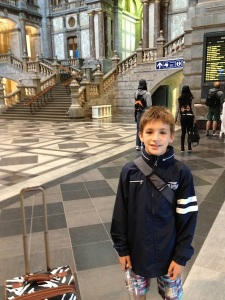 At Antwerpen Centraal Station - A Neo-Baroque Masterpiece