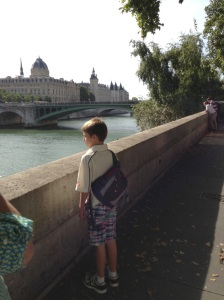 Looking over to Le Consigliorie on the Seine