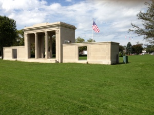 WWI Memorial at Agwam Park - Recently Restored