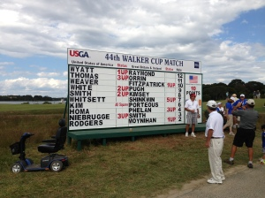 The USA is going to win The  Walker Cup