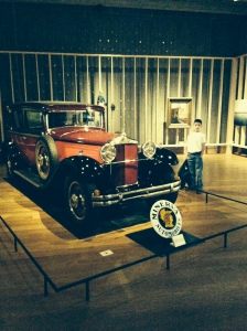 In the exhibit on Power they had this old (1935) Minerva, a great Belgian designed and produced automobile.