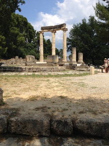 The Temple of Zeus in Olympia