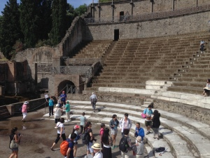 The main theater of Pompei.