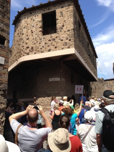 "This is the most visited site in Pompei - The ""love"" House."
