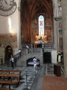 The Sacristy of Santa Maria Novella