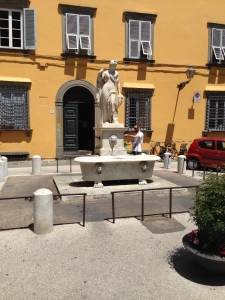 It is very common in Italy to fill up your drink bottle at the many fountains.