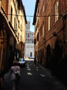 Down the street to the Church of San Michele in Foro.