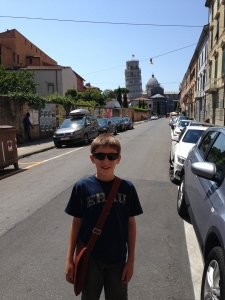 A quick drive to Pisa before we head off to Gaiole in Chianti.  There is the leaning tower.