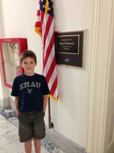 This is the office of our Congressman, Ron De Santis (R-6th District of Florida).  We arranged our Capitol Tour tickets through his office.  Thanks to Mary and Charlie.